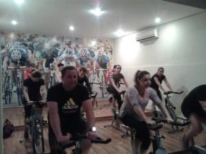 Aula de Bike!!